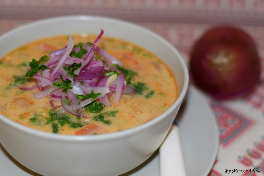 Supă de fasole ardelenească