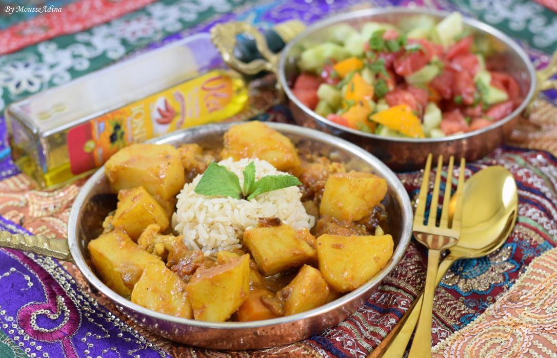 Curry indian de legume