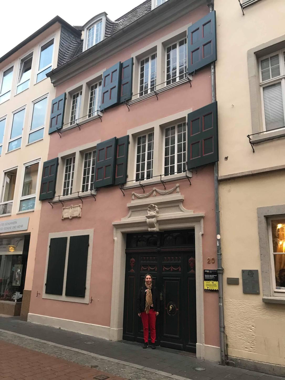 Casa lui Beethoven :)