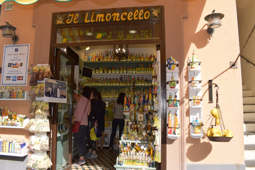 Tot Amalfi: un super limoncello!